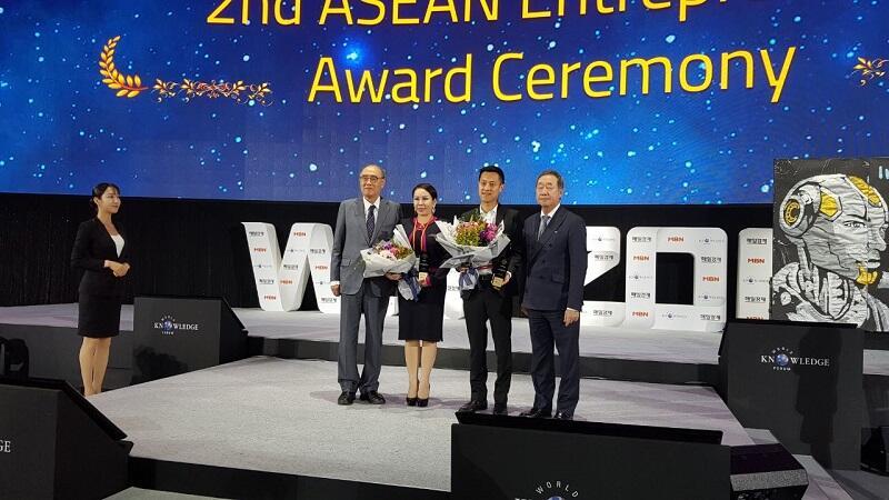 Mimin Andrew Dapat Penghargaan ASEAN Entrepreneur Awards 2017
