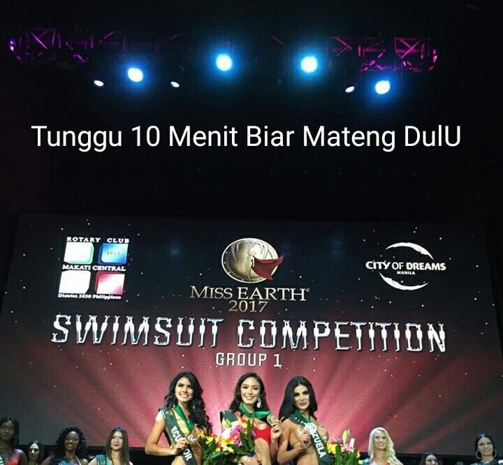 Miss Earth 2017 dan sekilas lingkungan hidup Indonesia. Cakeeep Gaan