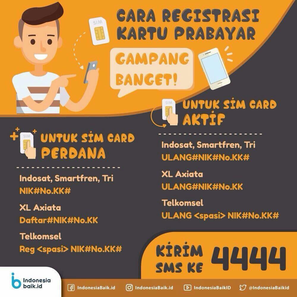 Registrasi Sim Card Anda Segera