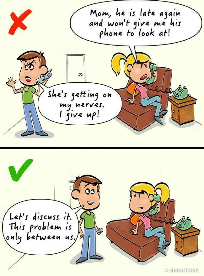 Berantem Dengan Pasangan? Jangan Lakukan Hal Ini