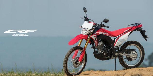 Brumm.... Honda CRF150L Resmi Dijual Di Indonesia