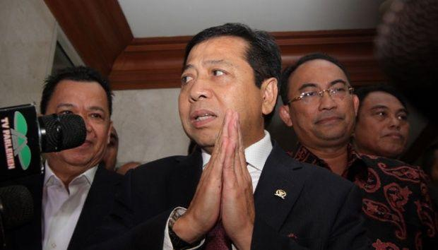 KPK Antarkan SPDP ke Rumah Setya Novanto