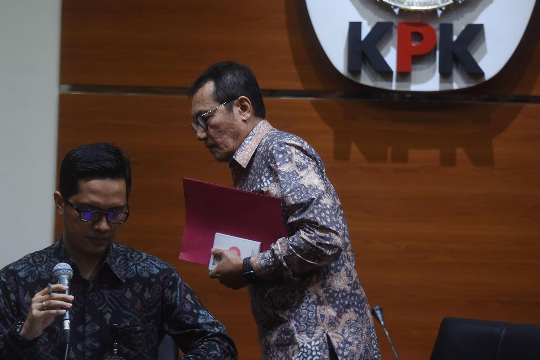 Setya NovantoBelum Ditahan KPK