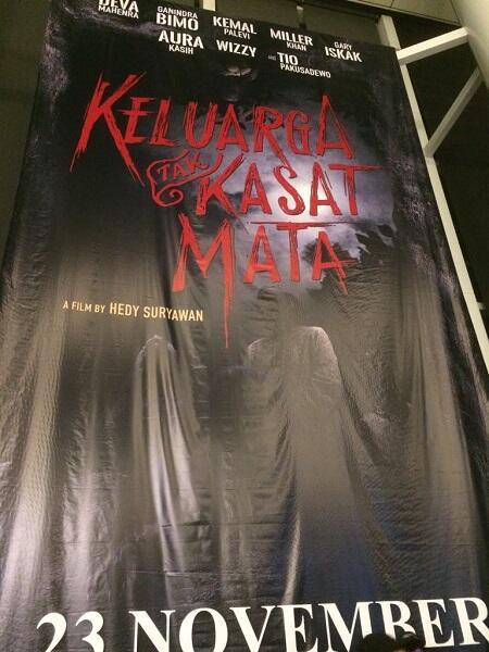 Serunya Nobar Gala Premiere Film Keluarga Tak Kasat Mata