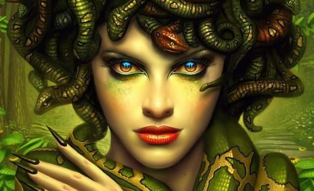 Mata Air Medusa yang Mampu Mengubah Benda Jadi Batu