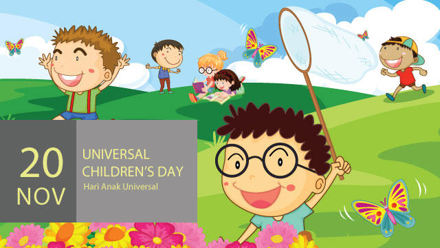 Selamat Hari Anak Sedunia