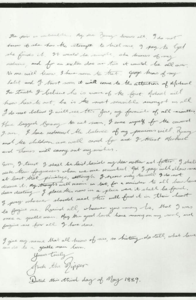 Misteri Jack the Ripper (bagian 3) : Pelaku Yang Sebenarnya
