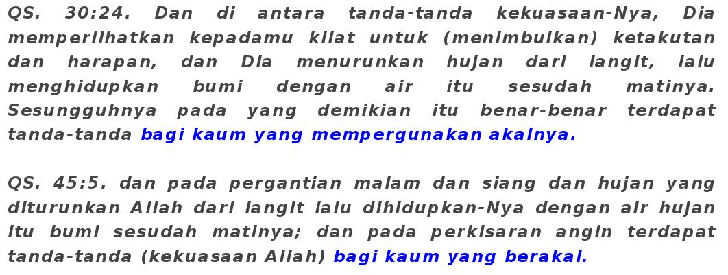 Agama mana yang paling benar?