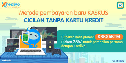 Pakai Kode Promo Ini, Dapetin Diskon 25% Dengan Kredivo