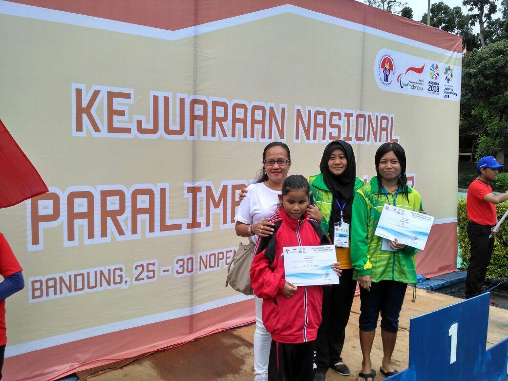 Atlet Disabilitas Netra DKI Jakarta Toreh Medali Paralimpik