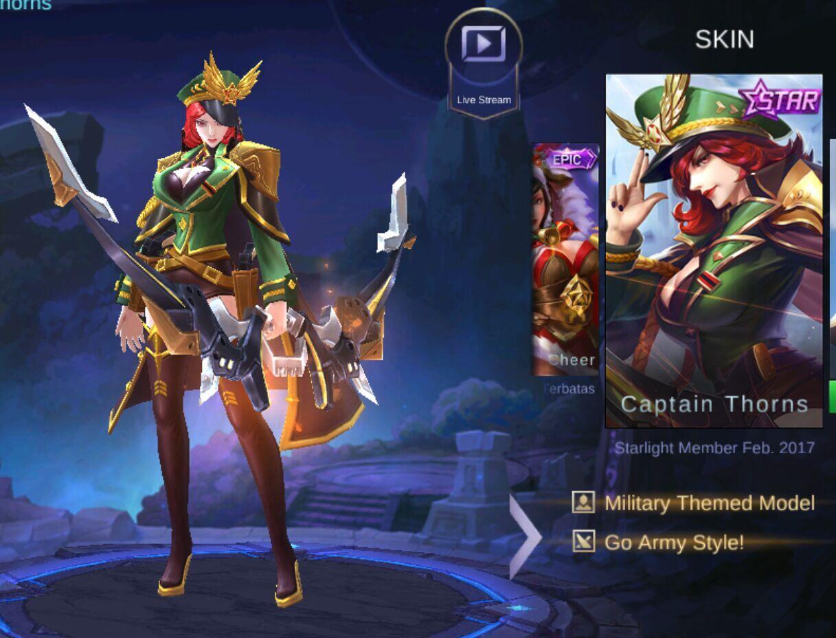 Skin Face Hero Mobile Legend Tercantik Versi Ane