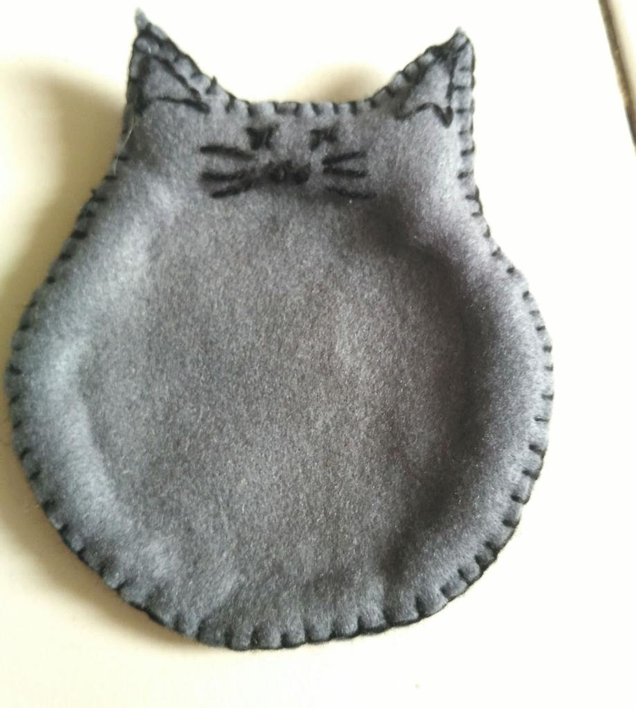 Tatakan Gelas Flanel Bentuk Kucing Kaskus Kain Diy Event