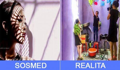Agan Nemu Foto Keren di Sosmed? Seperti Ini Realitanya