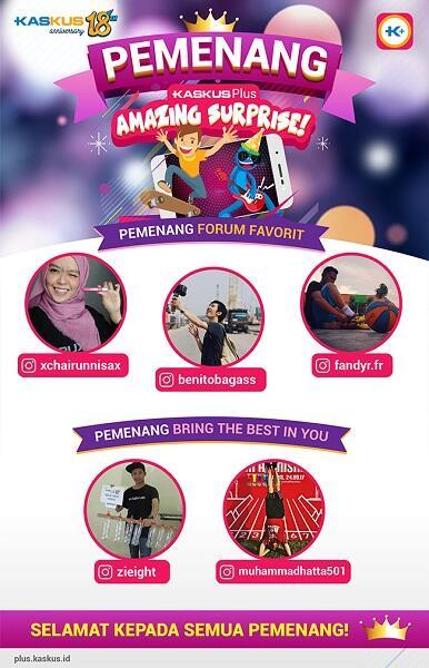 Banjir Hadiah Setiap Minggu di KASKUS Anniversary!