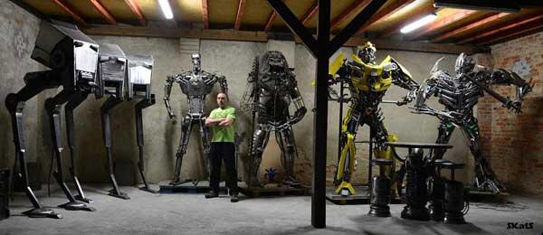 Miniatur Transformers, Onderdil Bekas Seharga Rumah Mewah