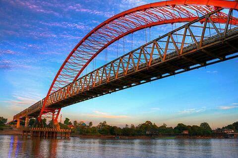 Lukisan Jembatan Kahayan Yang Banyak Orang Belum Tau?