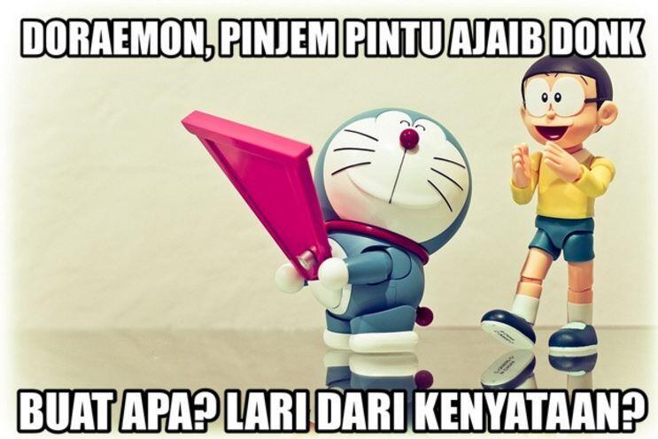 Terungkap, ini asal mula tumpukan pipa di serial Doraemon