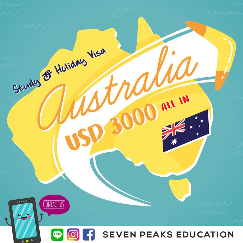 Paket all in belajar dan berlibur di australia selama 1 bulan, Daftar sekarang!