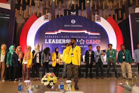 BI Gelar Leadership Camp Bagi 440 Mahasiswa Penerima Beasiswa