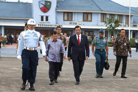 Wapres JK Kunker Ke Provinsi Jawa Tengah dan Riau