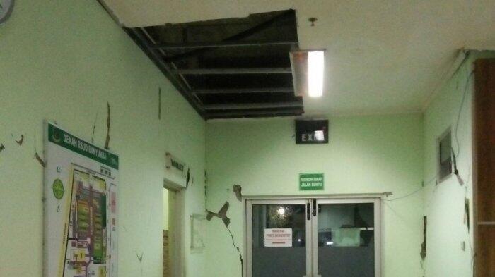Gedung Rumah Sakit Rusak Hingga Rumah Roboh di Banyumas Akibat Gempa