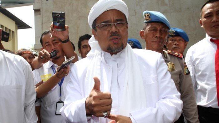 Imam Besar FPI Rizieq Shihab Dukung Pelaksanaan Aksi Bela Palestina