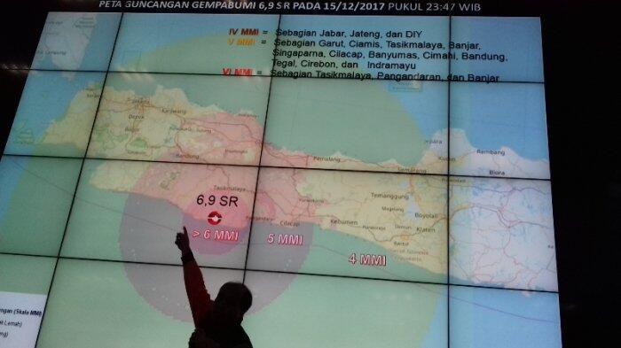 Ini Penjelasan BNBP Sebab DKI Terkena Efek Gempa Bumi 6,9 SR