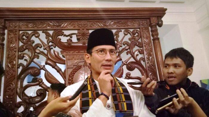 Soal OK OCE, Sandiaga: Sejak Awal Kami Enggak Pernah Ada Berjanji Memberikan Modal