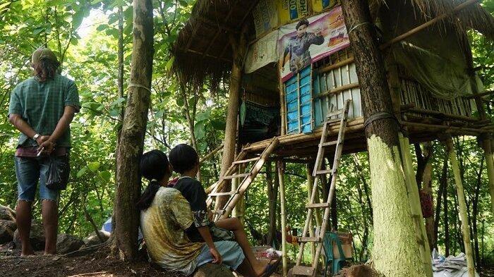 Bikin Miris, Ternyata Ini Alasan Budianto Ajak Istri dan Anak Tinggal di Hutan