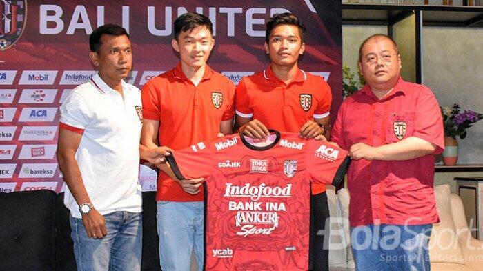 Bali United Rekrut Sutanto Tan Padahal Sudah Banyak Stok Pemain Gelandang