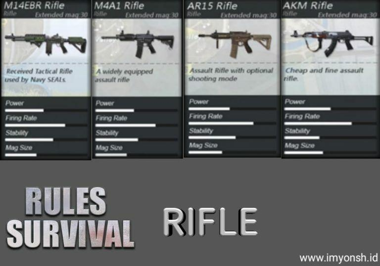 RULES OF SURVIVAL IOS/ANDROID/PC - Page 4 | KASKUS M14 Ebr Rifle