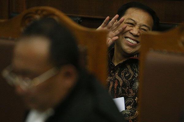 Dari Pengadilan, Novanto Berpesan