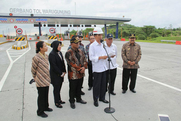 Merak-Surabaya Ditargetkan Tersambung Tol 2018