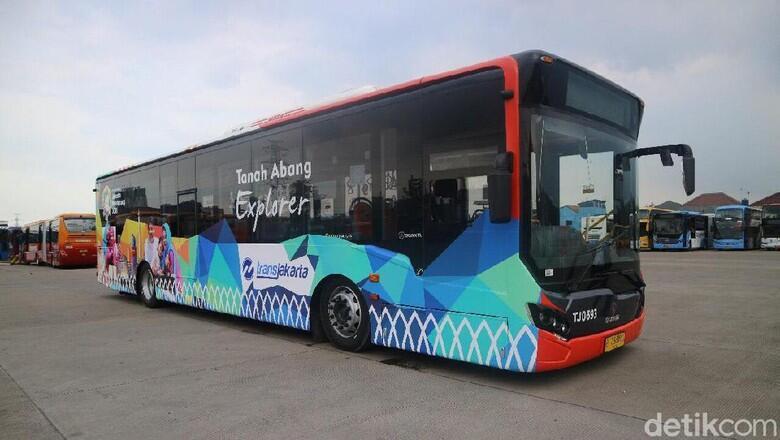 TransJ Luncurkan Bus Tanah Abang Explorer, Gratis!