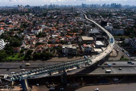 Pembangunan MRT Jakarta Targetkan 90% di Akhir 2017