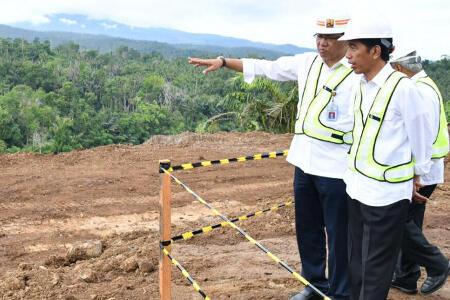 Jokowi Targetkan Pembangunan Bendungan Sukamahi dan Ciawi Rampung 2019