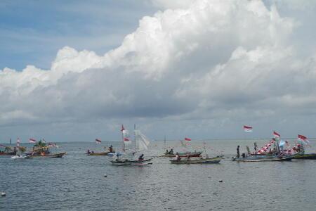 Dukung Wisata Bunaken, Warga Ikut Lomba Bersih Desa