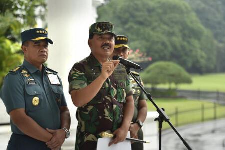 Panglima Batalkan Mutasi 16 Pati TNI
