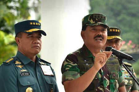 """Panglima TNI: Tidak Ada Istilah """"Like and Dislike"""" di Karier Prajurit"""
