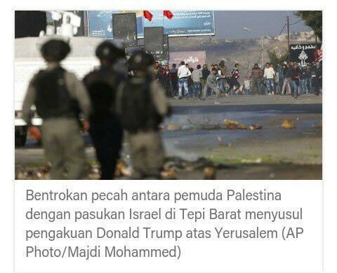 Raja Salman Dukung Yerusalem Timur Jadi Ibu Kota Palestina