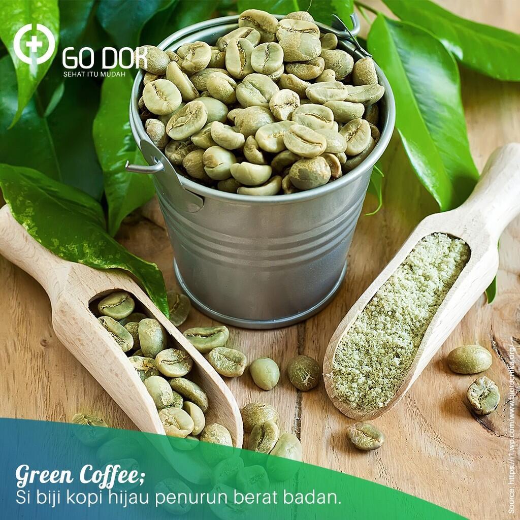 Green Coffee, Si Biji Kopi Hijau Penurun Berat Badan