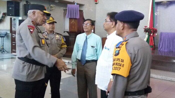 7.763 Polisi Amankan Natal Gereja se-Sumatera Utara