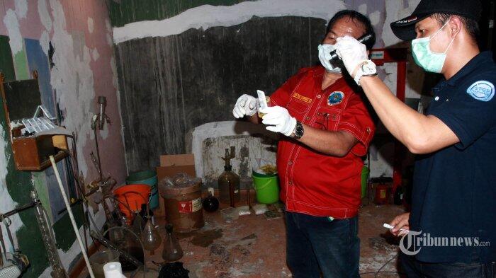 BNN Kantongi Perusahaan Pemasok Bahan Baku Laboratorium Narkoba Diskotek MG