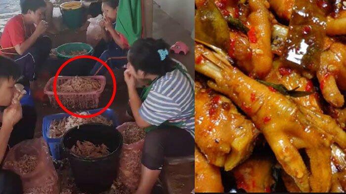 Videonya Viral, Masih Mau Makan Ceker Ayam Kalau Cara Masaknya Seperti ini ?