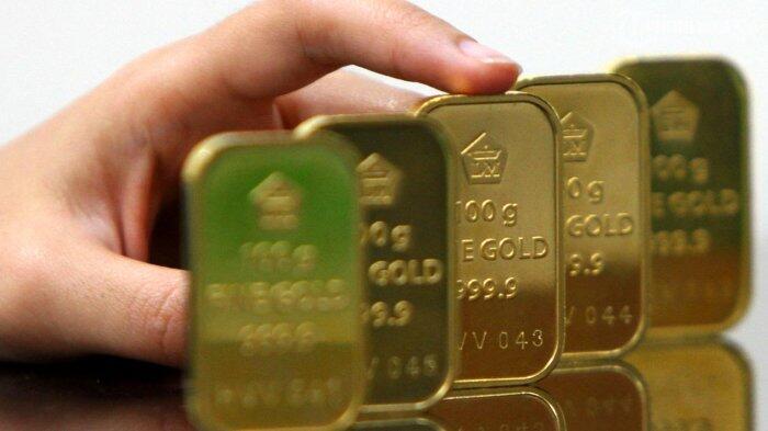 Emas Antam Bergerak ke Posisi Rp 622.000 Per Gram