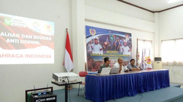 Lembaga Anti Doping Indonesia Gencar Turun ke Daerah