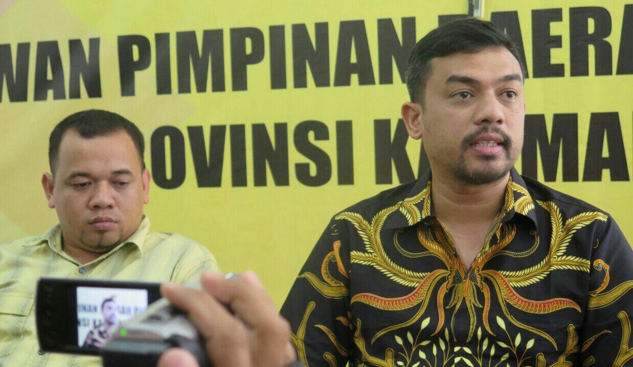 Tegas! DPP Golkar Tak Pindah Dukungan di Pilgub Kalbar