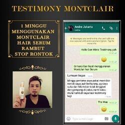 Montclair Hair Serum Mengatasi Kebotakan Kerontokan Rambut Garansi Pasti Tumbuh