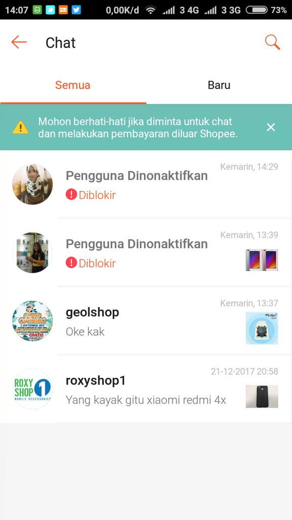 Penipuan Pembelian Hp Xiaomi A1 Di Shopee Kaskus