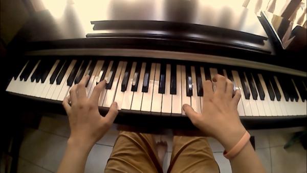 CIAMIKKK COVER PIANO BLUES SATU INI!!